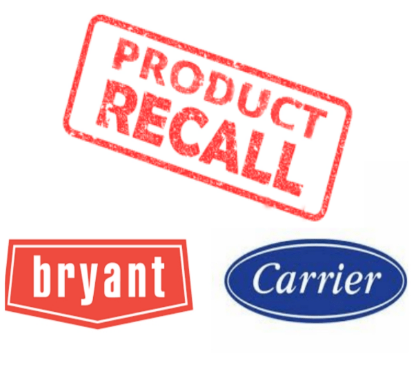 carrier & bryant recall