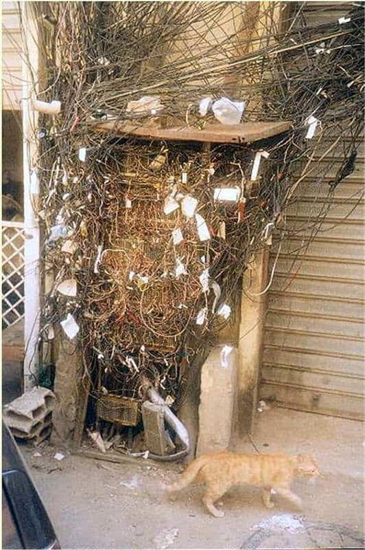That's a wiring nightmare