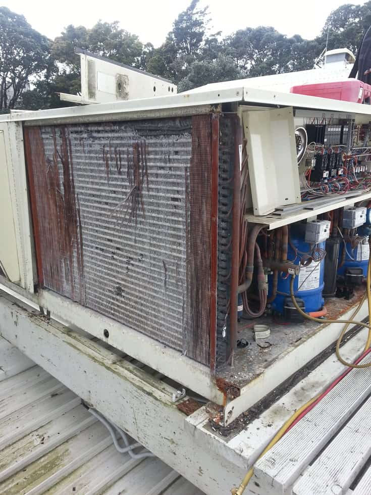 Condenser Replacement Required!