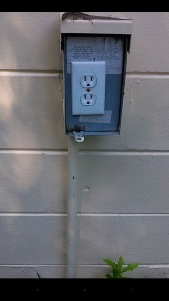 sweet. needed an outlet.