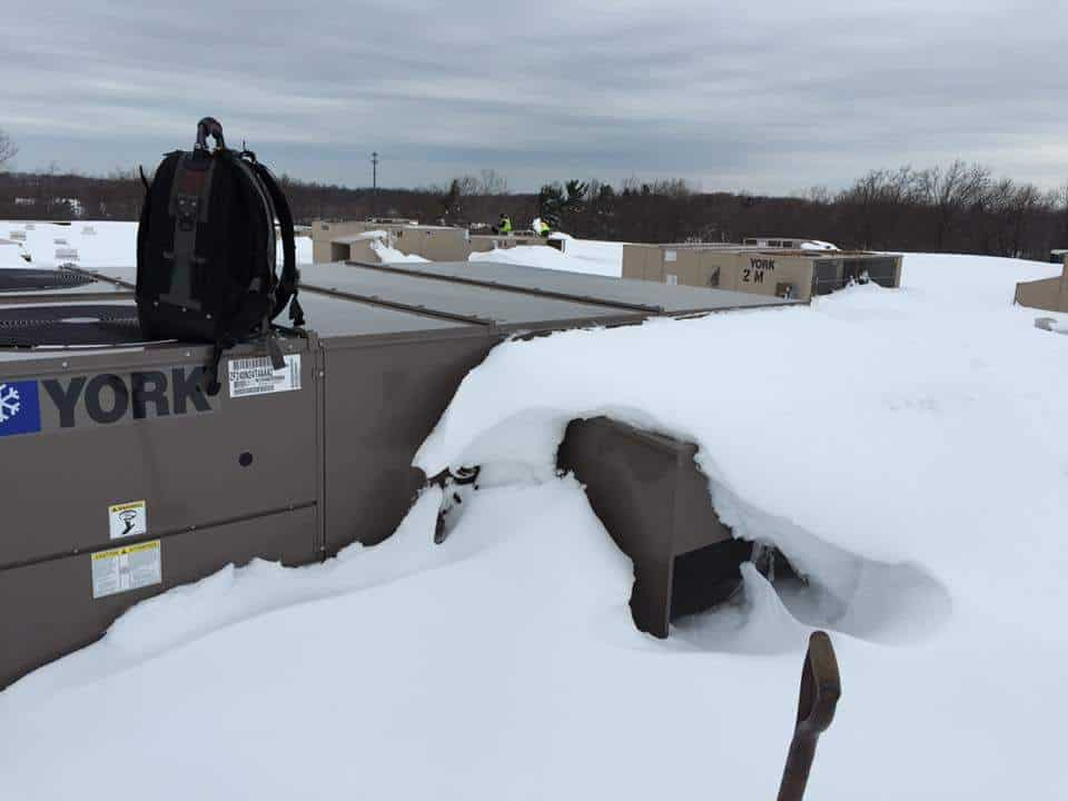 20 ton York hvac