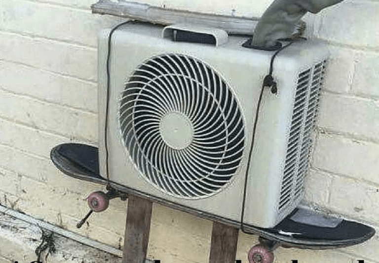 Mini Split Stand Hvac Hacks