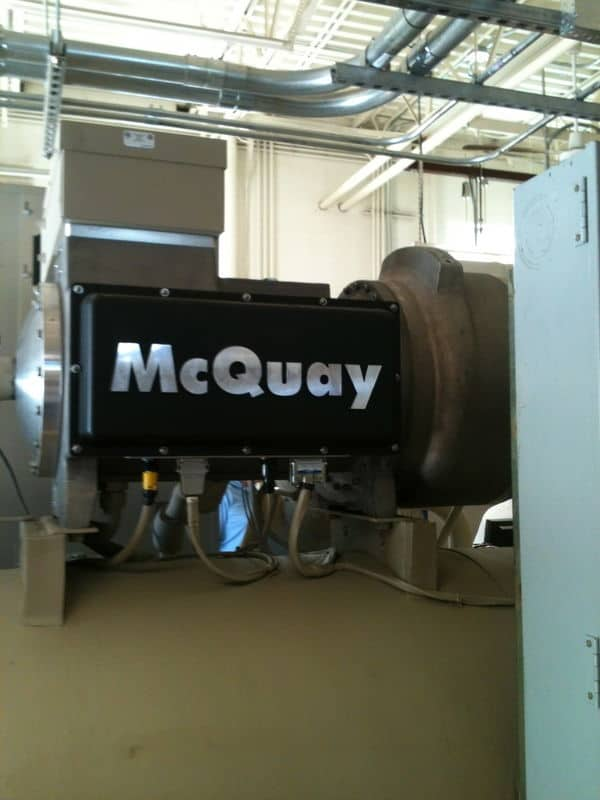 mcquay magnitude 500 ton magnetic bearing centrifugal chiller i started today!!!