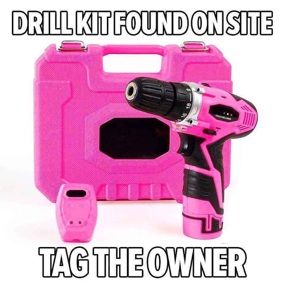 Pink drill